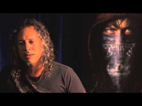 Kirk Hammett Talks Comic-Con