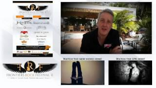 Steve Overland Of FM Invites You To The Frontiers Rock Festival 2 (April 11 & 12 2015 - Italy)