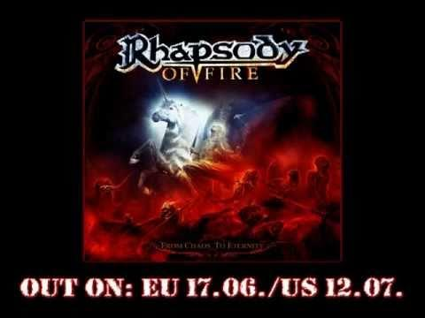 RHAPSODY OF FIRE - From Chaos To Eternity (OFFICIAL ALBUM TRAILER)