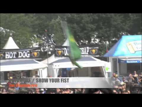 EKTOMORF LIVE At WACKEN 2010 (Rat War/Show Your Fist)