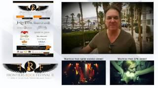 Pete Jupp Of FM Invites You To The Frontiers Rock Festival 2 (April 11 & 12 2015 - Italy)