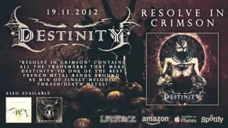 DESTINITY - Aiming A Fist In Enmity (full track teaser)
