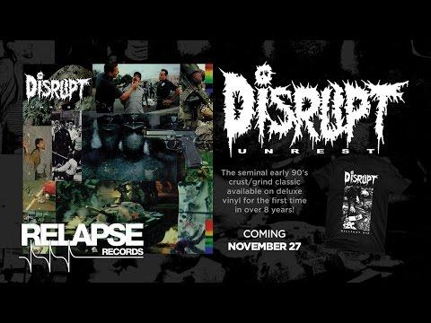 DISRUPT - Unrest Vinyl Reissue (Official Trailer)