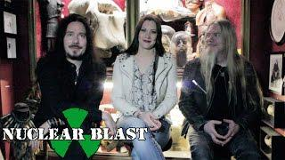 NIGHTWISH - Concept And Final Track (PROG MAGAZINE OFFICIAL INTERVIEW)