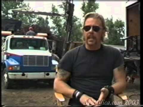 Metallica - Frantic Video Shoot (July 21, 2003)