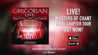 "Gregorian ""LIVE! Masters of Chant - Final Chapter Tour"" OUT NOW!"