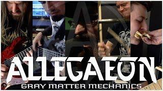 "Allegaeon ""Gray Matter Mechanics"" (FULL BAND PLAY THROUGH)"