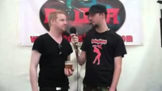 ANAAL NATHRAKH Interview with Onslaught Radio at Bloodstock 2012