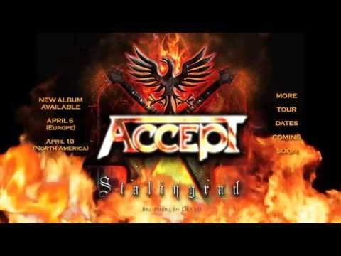 ACCEPT - European Tour Trailer 2012