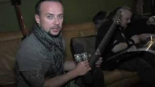 Nergal talks about his ESP HEX-7 signature guitar