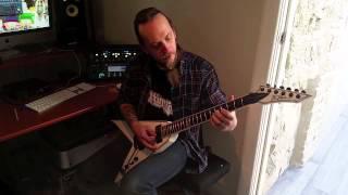 Ol Drake (Ex Evile Guitarist) Tutorial Video For Guitarists Playing Guitars