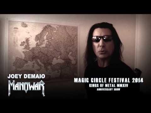 MANOWAR Have Announced Their Headlining Performance At MAGIC CIRCLE FESTIVAL 2014