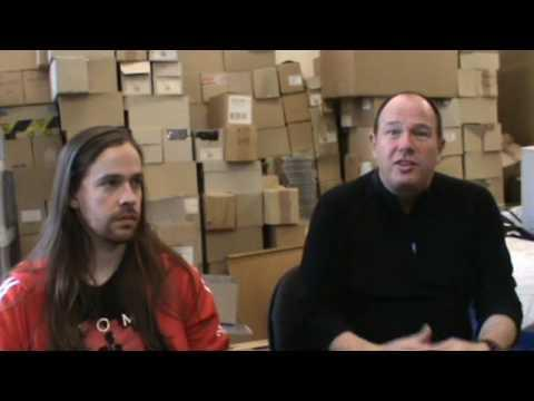 Philly From Gama Bomb And Digby From Earache Records Discuss FREE Album - Part 1