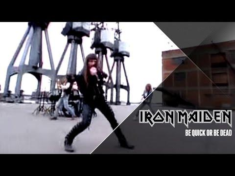 Iron Maiden - Be Quick Or Be Dead (Official Video)