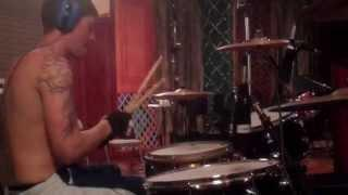 GIRL ON FIRE - In The Studio #1 (Drums)