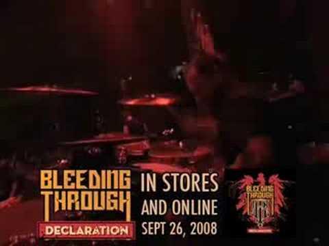 BLEEDING THROUGH - Declaration (OFFICIAL ALBUM TRAILER)