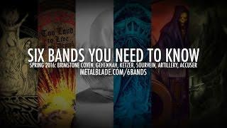 Six Bands in 60 Seconds - Spring 2016 #6BandsYouNeedtoKnow