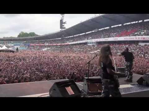 SABATON - Supporting Iron Maiden In Sweden (OFFICIAL LIVE)
