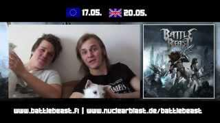 BATTLE BEAST - Battle Beast (OFFICIAL TRACK BY TRACK PT 2)
