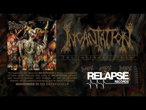 INCANTATION - The Infernal Storm Vinyl Reissue (Official Trailer)