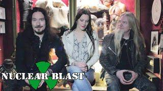 NIGHTWISH - Tuomas, Floor & Marco On The Artwork For Their New Album (TERRORIZER EXCLUSIVE)