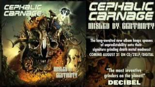 "CEPHALIC CARNAGE - ""Abraxas Of Filth"""