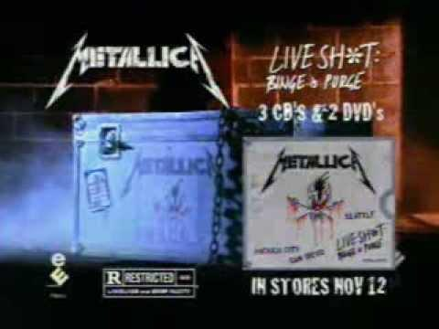 Metallica - Live Shit: Binge & Purge DVD Promo