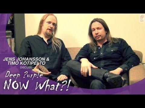 Jens Johansson & Timo Kotipelto Of Stratovarius Discuss Deep Purple's New Album