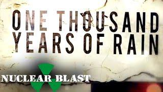 ENSLAVED - One Thousand Years Of Rain (OFFICIAL LYRIC VIDEO)