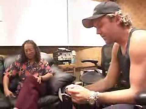 Metallica - Jump In The Studio: Vomit (August 15, 2002)
