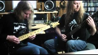 """Jeff Loomis and Joe Nurre play """"Shouting Fire at a Funeral"""""""