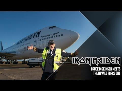 Iron Maiden - Bruce Dickinson Meets The New Ed Force One