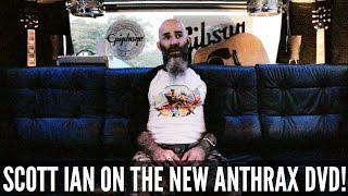 ANTHRAX - Scott Ian On The Band's New Live DVD 'Chile On Hell' (OFFICIAL INTERVIEW)