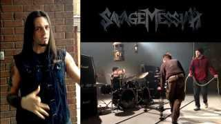 Savage Messiah - Behind the scenes of the HELLBLAZER video shoot