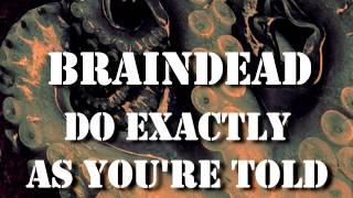 Shrapnel - Braindead Lyric Video