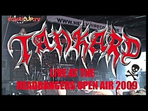 TANKARD - Live At Headbanger's Open Air 2009 // Official Full Concert // AFM Records