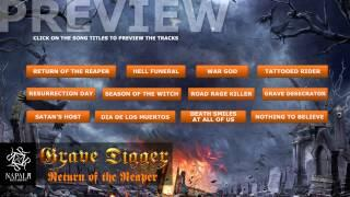 GRAVE DIGGER - Return Of The Reaper (Preview) | Napalm Records