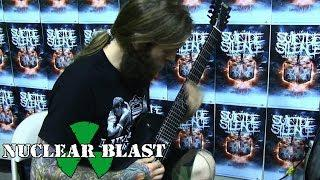 SUICIDE SILENCE - Cease To Exist: Guitar Lesson W/ Chris Garza + Mark Heylmun (PART 3)