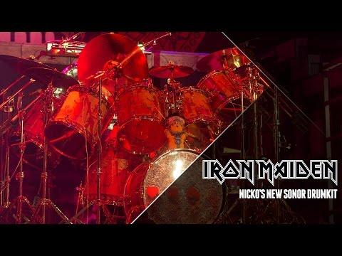 Iron Maiden - Nicko's New Drums