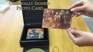 "HAMMERFALL - Unboxing ""Built To Last"" Wooden Box 