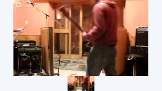 Sabazius 24-Hour Day/Night Live Doom Session at Foel Studios Part 2