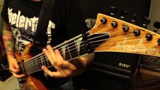 "REVOCATION - ""Spastic"" David Davidson Guitar Performance Video"