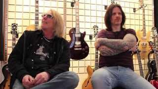 BLACK STAR RIDERS - Ricky On Hearing Thin Lizzy For The First Time (OFFICIAL INTERVIEW)