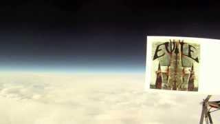 Evile SKULL in space May 2013