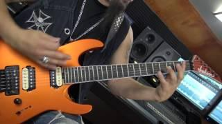 """ADRENALINE MOB - Mike Orlando """"King Of The Ring"""" (Guitar Play Through)"""