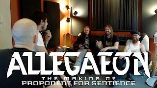 "Allegaeon - the making of ""Proponent for Sentience"""