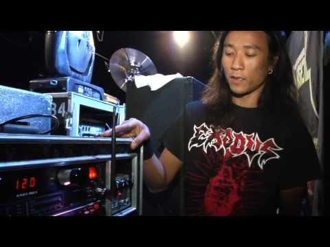 DEATH ANGEL - Gear Talk  W/ Ted Aguilar (OFFICIAL INTERVIEW EP 1)