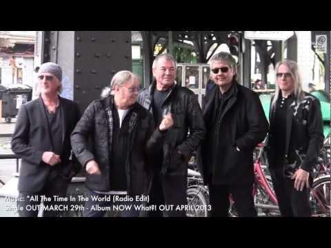 Deep Purple Behind The Scenes NOW What?! Photoshoot In Berlin