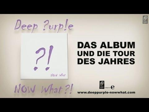 Deep Purple NOW What?! German TV Spot (Deutscher Deep Purple TV Spot) HD