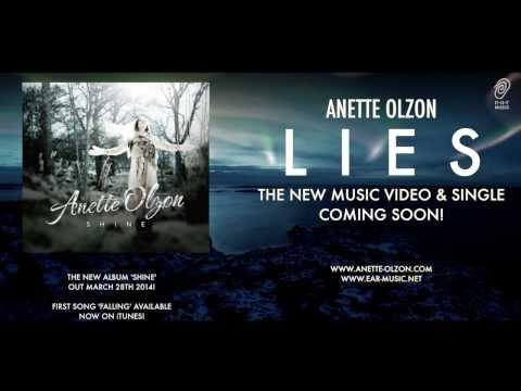 ANETTE OLZON 'Lies' Official Music Video Premiere February 14th 2014 - Subscribe Now!